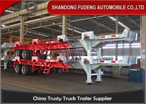 China Port widely used container chassis trailer / 2 axles Terminal trailers / 40 ft Terminal truck trailers on sale