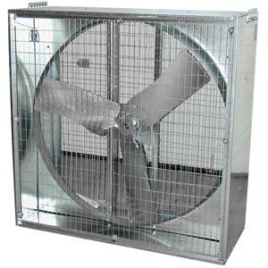 China 36'' belt Drive, Galvanized 6 Blade Whirl-wind Box Exhaust Fan on sale