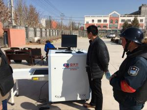 China Single Energy / Linux System Security Baggage X Ray Security Scanner Machine for Police AT5030A on sale