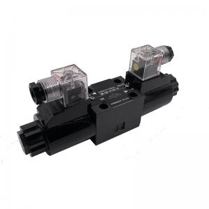 China SWH-G02-D24-20 Electromagnetic Directional Valve / Hydraulic Solenoid Valve on sale