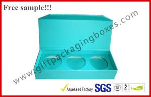 China Durable Rectangle Apparel Gift Boxes , Pantone / Metallic Color Printed Magnet Package on sale
