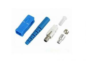 China Blue / Green Housing 3.0mm sc optical connector for Optical Fiber Communication on sale