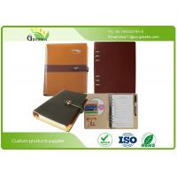 Hot Stamping Classic Colors Custom Pocket Notebook With Recycled Inner Paper