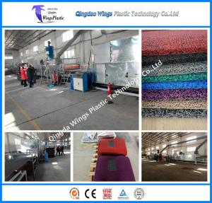 China Quanlity PVC Coil Mat Machinery Supplier 3G 8A Mat Machinery Supplier Best Machine in China on sale