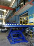Stationary Lift Table, Hydraulic Dock Lift Equipment With Full Toe Guard For Forklift Loading