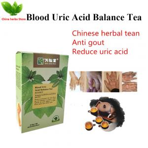 China Herbal gout treatment Chinese gout relief tea teabag podagra big toe medication uric acid balance gout foot remedies on sale