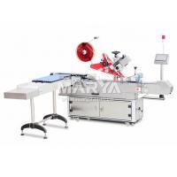 China Vertical que alimenta la máquina de etiquetado Abrigo-redonda horizontal on sale