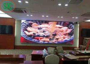 China Interior SMD2121 RGB Waterproof LED Screen Full Color LED Display For Advertising on sale