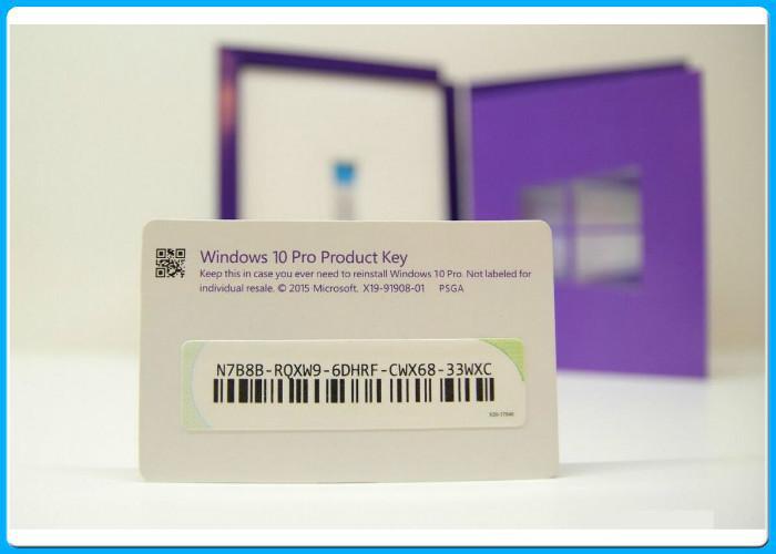 Microsoft Windows 10 Pro Software , Windows 10 Pro Retail Box 64 bit