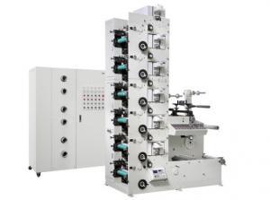 Quality 60 m/min 6 Colour Flexo Printing Machine , RY-320-6 UV Flexo Printing Machine for sale