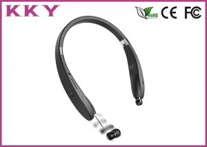 China Sports Style Neckband Bluetooth Headphones In Ear With FCC / CE / RoHS on sale