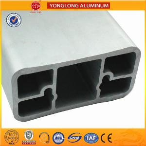 China Anodized Aluminium Extrusion Profiles For Industrial Natural Silver on sale