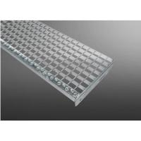 DIN 24531 Galvanized Steel Stair Treads With Nosing 330-34 / 38-3 Type