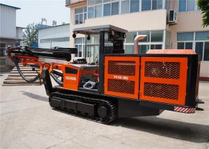 China Diesel engine driving Drilling jumbo machine used for tunneling and underground mining on sale