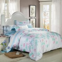 China King Size Tencel Home Bedding Comforter Sets Duvet Covers And Matching Curtains on sale