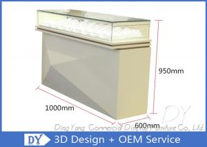 China OEM Pre Assemble Jewelry Store Showcases / Watch Display Showcase Counter on sale