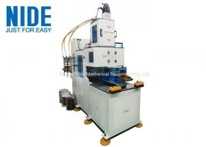 China Automatic Stator Vertical Coil Winding Machine With Single-head and Double Station supplier