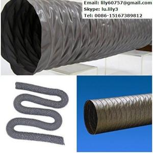 China Laminated PVC Tarpaulin for Air Duct Hose/Ventilation Duct on sale