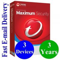 2019 antivirus software Trend 2019 Micro Maximum Security 3 PC User 3 Year key product ONLY latest version