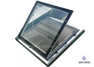 China Top Hopper Bottom Hung Anodised Aluminium Windows For Residential Home Office on sale
