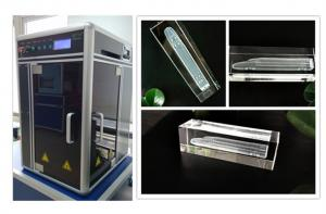 China 3W / 5W Laser Power 3D Subsurface Laser Engraving Machine on sale