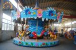 Luxury And Attractive Amusement Park Carousel Ocean Style 4.8 M Height
