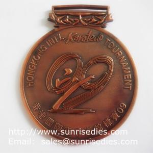 3D embossed medals and medallions, personalized metal medal