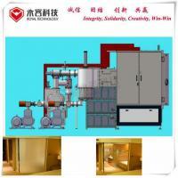 China Decorative Glass Thin Film PVD Coating Equipment / Vacuum Multi - Arcs Ion Plating Machine on sale