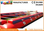 0.55mm PVC Tarpaulin Inflatable Sports Games , Outdoor Human Table Football