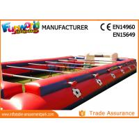0.55mm PVC Tarpaulin Inflatable Outdoor Games Human Table Football Inflatable Interactive Games