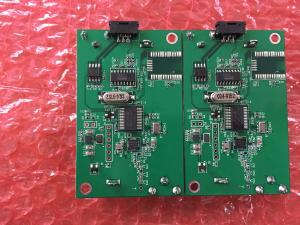 China 4 Layer PCB Manufacturing Gold immersion 1.5 OZ Copper Weight Green Solder Mask on sale