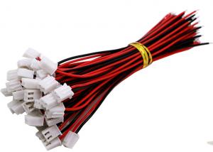 China Custom Wire Harness Connectors JST XH 2.54mm 2 Pin Terminal Plug Extension Cable on sale