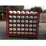 CNGのガスの給油所のための地上の貯蔵シリンダー滝の満ちるシステム