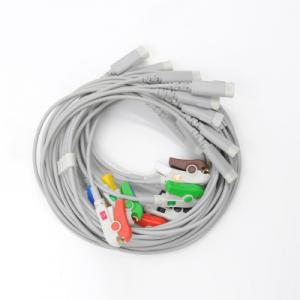 China EKG cable and leadwire for NIHON KOHDEN, PHILIPS, BIOMED, KONTRON, SCHILLER, BIONET,SELCH ALLYN, FUKUDA DENSHI on sale