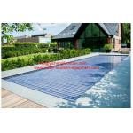 China Beautiful Automatic Swimming Pool Cover Projects Install All Around The World wholesale