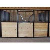 Prefab Steel Horse Stall Fronts For One Two Four Equestrian Barns