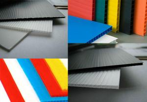China polypropylene corrugated plastic sheet on sale