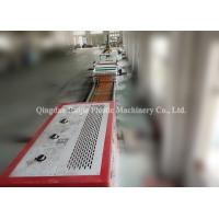China Vinyl LVT Floor Tiles Making Machine Plastic Wear Layer Embossed Surface on sale