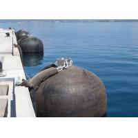 Durable Submarine Fenders Floating Dock Bumpers With Water 45% Deflection