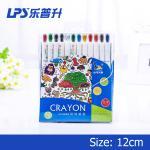La torsion non toxique vers le haut de la barre de mise en valeur carné de crayon de crayons superbe lissent