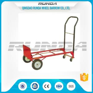 China Four Wheels Transport Light Duty Hand Truck 50kg Loading  Replaceable Axle on sale