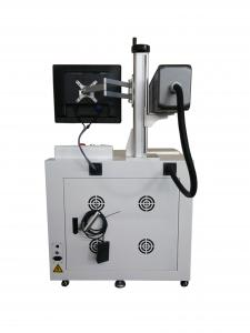 China Cloth Jeans Co2 Laser Marking Machine Cable Laser Marking Machine Long Life Time on sale