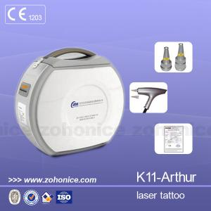 China Portable White Laser Tattoo Removal Machine CE With 1064nm For Eyebrow Removal on sale