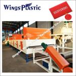 CE & ISO PVC Coil Cushion Floor Mat Manufacturing Machine / Extrusion Line