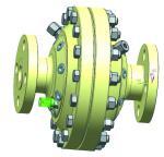 Green Natural Gas Line Pressure Regulator High Pressure Nitrogen Regulator