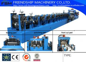 China Cold Rolled Or Galvanized C Z Purlin Roll Forming Machine With 15m/Min on sale