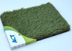 China Indoor Monofilament Artificial Grass , Landscaping Luxury Artificial Grass on sale