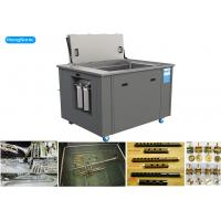 China Econimical Size Ultrasonic Cleaning Machine , Large Ultrasonic Cleaner With Heater on sale