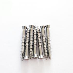 China Oval Head Torx Stainless Steel Chipboard Timber Decking Screws Type 17 Coarser Thread on sale