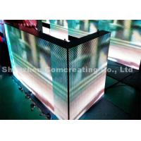 P8 HD electronic Outdoor Full Color LED Display Light Weight 1R1G1B 15625 dots / sqm